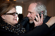 KATE ROBERTSON; MARK COWNE, Henry Porter hosts a launch for Songs of Blood and Sword by Fatima Bhutto. The Artesian at the Langham London. Portland Place. 15 April 2010. *** Local Caption *** -DO NOT ARCHIVE-© Copyright Photograph by Dafydd Jones. 248 Clapham Rd. London SW9 0PZ. Tel 0207 820 0771. www.dafjones.com.<br /> KATE ROBERTSON; MARK COWNE, Henry Porter hosts a launch for Songs of Blood and Sword by Fatima Bhutto. The Artesian at the Langham London. Portland Place. 15 April 2010.