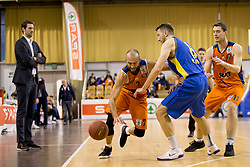 Nebojsa Joksimovic of KK Sixt Primorska during basketball match between KK Sencur GGD and KK Sixt Primorska in Final of Slovenian Spar Cup 2017/18, on February 19, 2017 in Sports hall Tivoli, Ljubljana, Slovenia. Photo by Urban Urbanc / Sportida