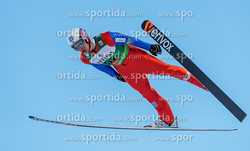 25.11.2016, Nordic Arena, Ruka, FIN, FIS Weltcup Nordische Kombination, Nordic Opening, Kuusamo, Skisprung, im Bild Magnus Krog (NOR) // Magnus Krog (NOR) during Skijumping of FIS Nordic Combined World Cup of the Nordic Opening at the Nordic Arena in Ruka, Finland on 2016/11/25. EXPA Pictures © 2016, PhotoCredit: EXPA/ JFK