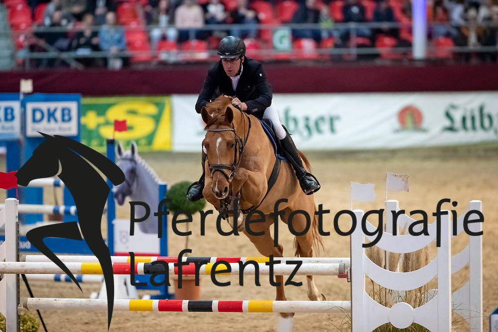KÖLZ Michael (GER), Lot of Scope<br /> Neustadt-Dosse - CSI 2019<br /> 2. Qualifikation Youngster Tour für 7 und 8 jährige Pferde<br /> 11. Januar 2019<br /> © www.sportfotos-lafrentz.de/Stefan Lafrentz
