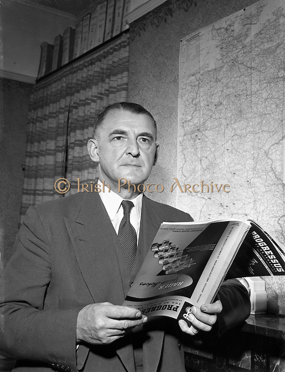"""31/01/1958<br /> 01/31/1958<br /> 31 January 1958<br /> <br /> Mr Carl Walter Kuchenmeister - Special for Sunday Express<br /> <br /> <br /> Kuchenmeister was a German citizen living in Dublin. He was a person to whom leave to reside in or visit the United Kingdom would be refused by the immigration authorities. On Apr. 27, 1955, he was travelling back from Amsterdam to Dublin on a route booked with a Dutch airline and had been informed that he did not need a British visa. On that particular flight the Dutch aircraft landed at London Airport and passengers to Dublin were to complete their journey by Aer Lingus aircraft flying from the central section of the airport. Between the two sections of the airport was a road about a mile long within the perimeter of the airport, but there were no physical controls preventing egress outside the airport by a passenger going from one section to the other. By the Aliens Order, 1953, leave to land is not required in the case of an alien """"who lands from an aircraft at an approved port for the purpose only of embarking in an aircraft at the same port"""" and remains between his landing and embarkation within """"limits... approved... by an immigration officer"""". The plaintiff, having disembarked at London Airport for the sole purpose of flying on to Dublin, was detained by the immigration authorities for nearly two and a half hours. He was then conducted by an immigration officer to the central section to join the Aer Lingus aircraft which was about to leave from that section. He arrived too late to be allowed to board the aircraft and had to remain at the airport until the next aircraft left for Dublin on the following morning. At no time did the immigration authorities either grant him or refuse him leave to land. The plaintiff claimed damages for false imprisonment against the Home Secretary and the senior immigration officer at the northern section of London Airport."""