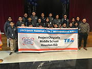 Project Chrysalis MS honored as 1 of the 63 schools nationwide recognized as a Title I Distinguished School. May 2, 2018.
