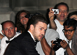 Justin Timberlake, GQ Men of the Year Awards, Royal Opera House, London UK, 03 September 2013, (Photo by Richard Goldschmidt)
