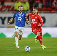 Fotball , 6. oktober 2019 , Eliteserien , Brann - Molde<br /> Gilli Rolantsson , Brann<br /> Magnus Wolff Eikrem , Molde