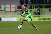 Forest Green Rovers Fabien Robert(26) during the Vanarama National League match between Forest Green Rovers and Guiseley  at the New Lawn, Forest Green, United Kingdom on 22 October 2016. Photo by Shane Healey.