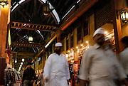 Traditional covered souq of Bur Dubai.