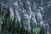 Rock formations, Yankee Boy Basin