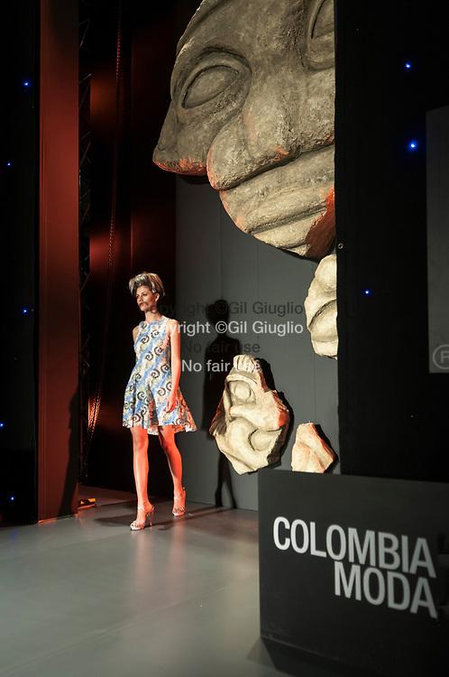 Colombie, Antioquia, Medellin, salon de la mode Colombiamoda, défilé de Francesca Miranda créatrice colombienne // Colombia, Antioquia, Medellin, Colombiamoda fashion week, fashion show by Francesca Miranda colombiane designer