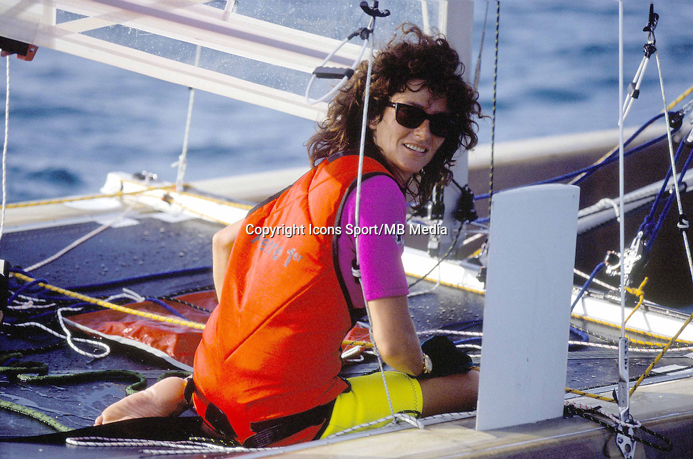 Florence Arthaud - 01.02.1992 - Tour du Monde 1992 -<br />
