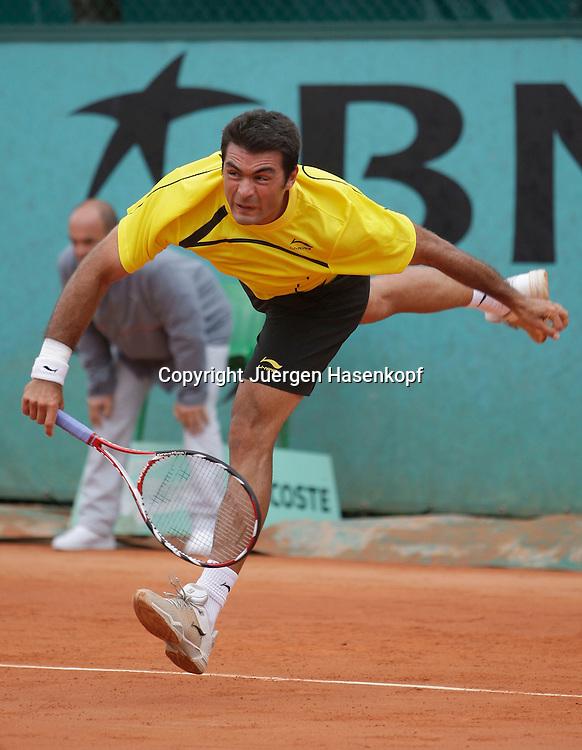 French Open 2009, Roland Garros, Paris, Frankreich,Sport, Tennis, ITF Grand Slam Tournament,<br /> <br /> Philipp Kohlschreiber (GER)<br /> <br /> Foto: Juergen Hasenkopf