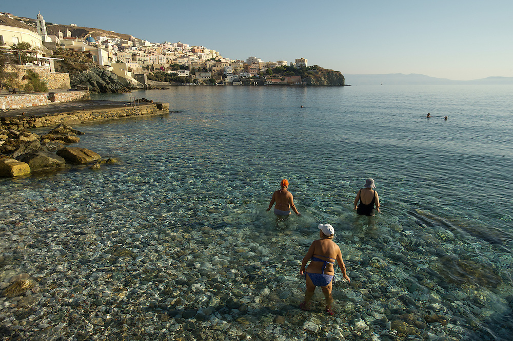 Syros, Greece, August 31, 2011.