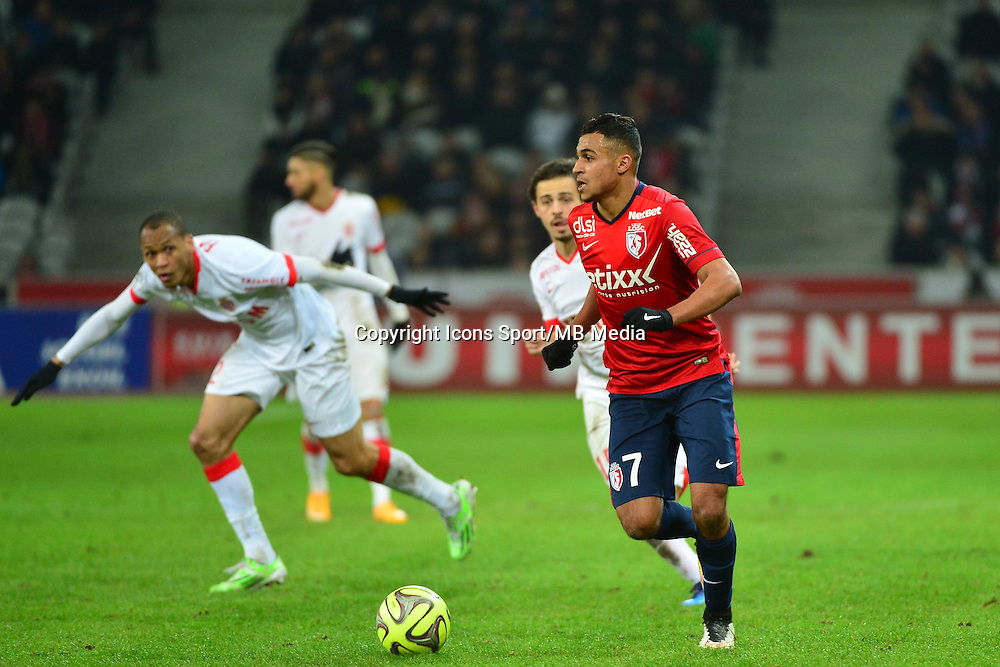 Sofiane BOUFAL  - 24.01.2015 - Lille / Monaco - 22eme journee de Ligue1<br />
