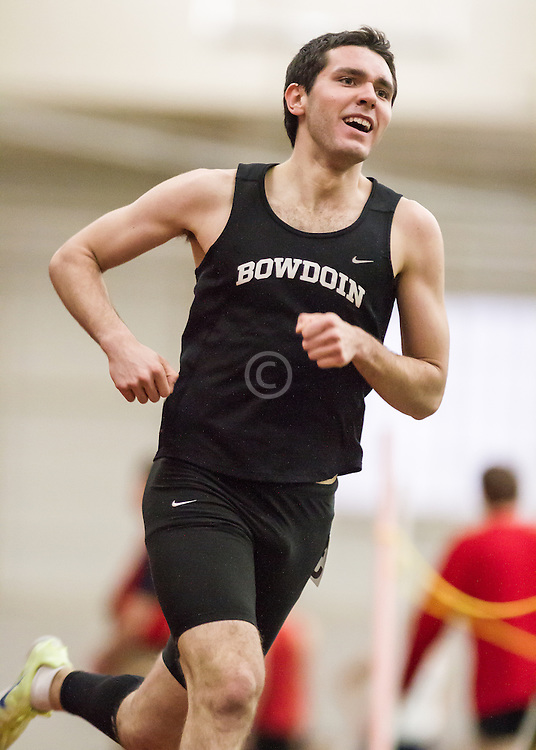 Bowdoin Indoor 4-way track meet: