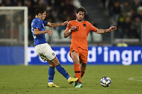 Daryl Janmaat-Federico Chiesa  <br /> Torino 04-06-2018 Allianz Stadium <br /> Football Friendly Match Italy - Netherlands <br /> Calcio Amichevole Italia - Olanda <br /> Foto Daniele Buffa / Image Sport / Insidefoto
