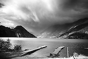 Anderson Lake, north of Pemberton, British Columbia, Canada.