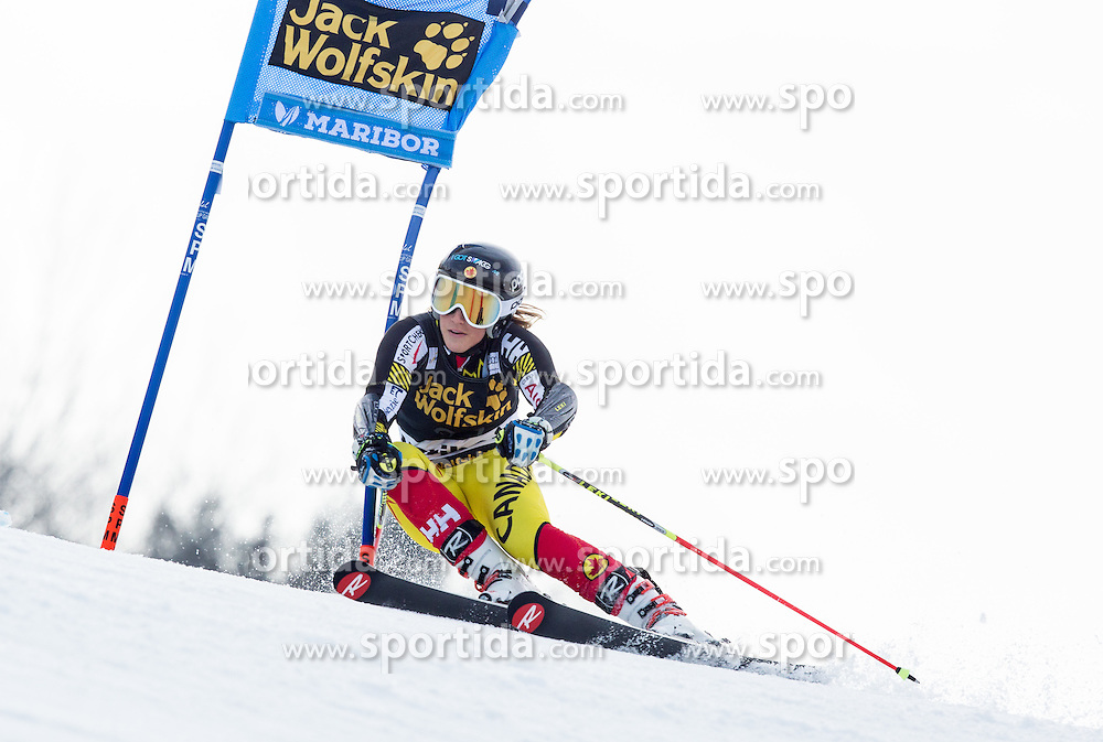 Marie-Pier Prefontaine (CAN) competes during 7th Ladies' Giant slalom at 52nd Golden Fox - Maribor of Audi FIS Ski World Cup 2015/16, on January 30, 2016 in Pohorje, Maribor, Slovenia. Photo by Vid Ponikvar / Sportida