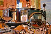 Horse-drawn hearse, Bodie State Historic Park (National Historic Landmark), California