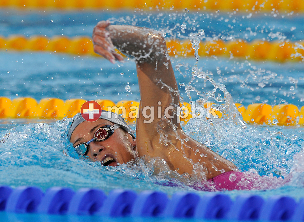 Third placed Camelia Alina POTEC of Romania competes in the women's 1500m freestyle final at the 13th FINA World Championships at the Foro Italico complex in Rome, Italy, Tuesday, July 28, 2009. (Photo by Patrick B. Kraemer / MAGICPBK)