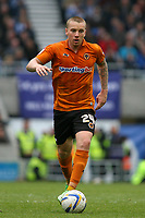 Football - 2012 / 2013 Championship - Brighton and Hove Albion vs. Wolverhampton Wanderers<br /> Jamie O'Hara of Wolverhampton Wanderers took the frustrations of the traveling Wolves support after gesturing to the crowd at The American Express Community Stadium