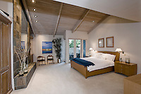 Bedroom in modern residence