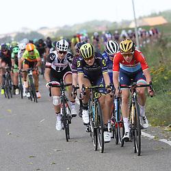02-09-2017: Wielrennen: Boels Ladies Tour: Vaals: Christine Majerus: Georgia Williams