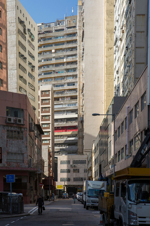A view of Wong Chuk Hang Road, Aberdeen, Hong Kong.  (photo by Andrew Aitchison / In pictures via Getty Images)
