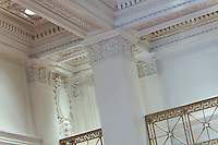 Architectural interior image of the Folger Building in Washington DC by Jeffrey Sauers of Commercial Photographics, Architectural Photo Artistry in Washington DC, Virginia to Florida and PA to New England