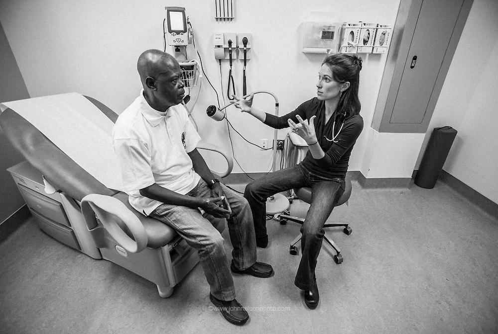 Vaupel&rsquo;s group home patients are 26 to 87 years old, and may have everything from orthopaedic problems and shunts to seizures and aggressive outbursts.<br /> Vaupel aims to be thorough and efficient with them. &ldquo;I don&rsquo;t try to do more than we need,&rdquo; she says. &ldquo;They can&rsquo;t always tell you what&rsquo;s going on ... (but) hopefully you&rsquo;ve made a little bit of a difference.&rdquo;