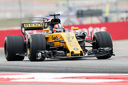 October 20, 2017 - Austin, Texas, U.S - Force India driver Nico Hulkenberg (27) of Germany in action before the Formula 1 United States Grand Prix race at the Circuit of the Americas race track in Austin,Texas. (Credit Image: © Dan Wozniak via ZUMA Wire)