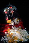 Sri Lanka..Ganesh at a small roadside shrine in Nilaveli..East Coast