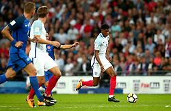 Marcus Rashford of England runs with the ball - Mandatory by-line: Robbie Stephenson/JMP - 04/09/2017 - FOOTBALL - Wembley Stadium - London, United Kingdom - England v Slovakia - 2018 FIFA World Cup Qualifier