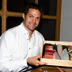 19,09,2019  Richie McCaw In the sushi-bar at the Andaz Hotel in Japan