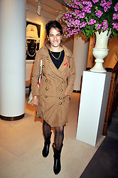 TRACEY EMIN at the Lighthouse Gala Charity Auction in aid of the Terrence Higgins Trust held at Christie's, St.James' London on 23rd March 2009.