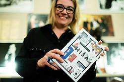 Ivana Djilas na predstavitvi knjige Hiša // presentation of Ivana Djilas's new book named Hiša (House), on February 15, 2017 in Ljubljana, Slovenia. Photo by Vid Ponikvar / Sportida