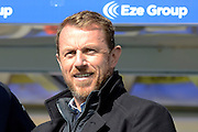 Birmingham City manager Gary Rowett during the Sky Bet Championship match between Birmingham City and Burnley at St Andrews, Birmingham, England on 16 April 2016. Photo by Alan Franklin.