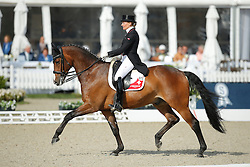 jKrinke-Susmelj Marcela, (SUI), Smeyers Molberg <br /> Grand Prix<br /> CDIO Hagen 2015<br /> © Hippo Foto - Stefan Lafrentz<br /> 09/07/15