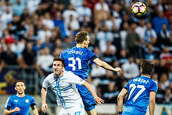 Mario Gavranovic #17 of HNK Rijeka during football match between HNK Rijeka and GNK Dinamo Zagreb in Round #27 of 1st HNL League 2016/17, on November 5, 2016 in Rujevica stadium, Rijeka, Croatia. Photo by Grega Valancic / Sportida