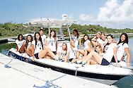 FIU Women's Volleyball Photo Shoot.South Beach 2011.