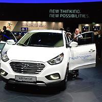 Hyundai ix35 Fuel Cell at the IAA 2013, Frankfurt, Germany