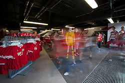 The new club shop in the South Stand before doors open to the public  - Mandatory byline: Dougie Allward/JMP - 07966386802 - 15/08/2015 - FOOTBALL - Ashton Gate -Bristol,England - Bristol City v Brentford - Sky Bet Championship