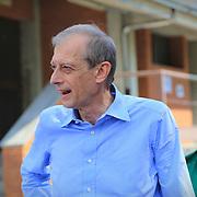 Piero Fassino in campagna per il ballottaggio