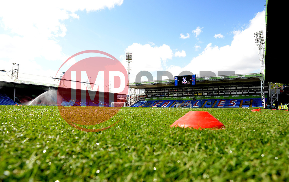 General View inside Selhurst Park. - Photo mandatory by-line: Alex James/JMP - Mobile: 07966 386802 - 09/05/2015 - SPORT - Football - London - Selhurst Park - Crystal Palace v Manchester United - Barclays Premier League