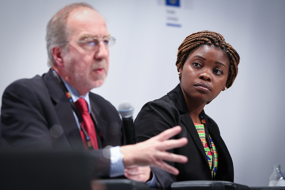 03 June 2015 - Belgium - Brussels - European Development Days - EDD - Food - Feeding the planet together - Catherine Mloza Banda , Future Leader © European Union