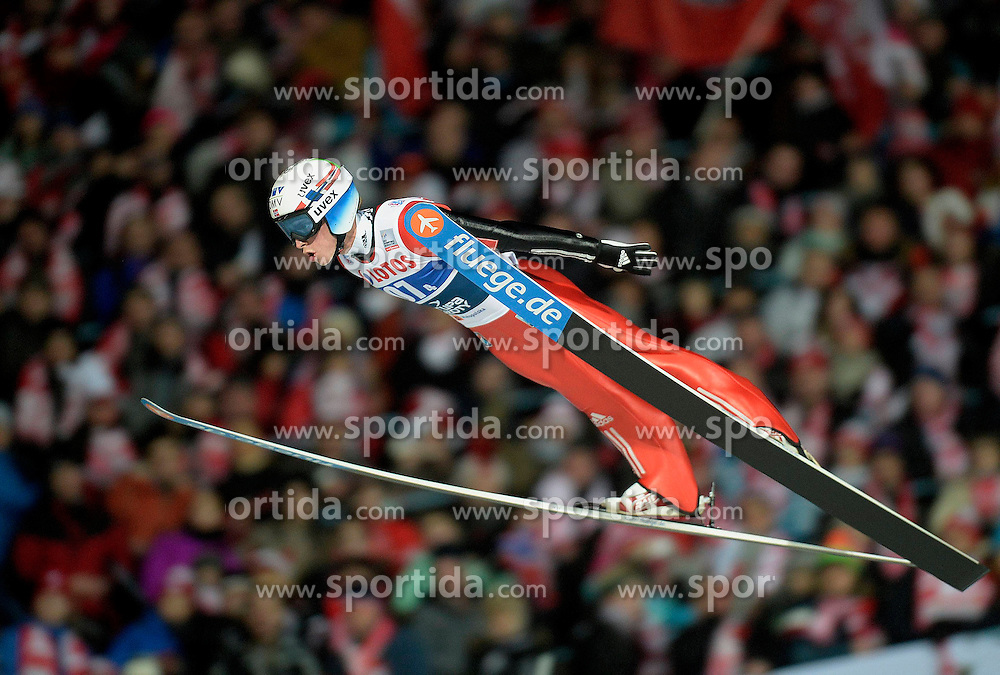 17.01.2015, Wielka Krokiew, Zakopane, POL, FIS Weltcup Ski Sprung, Zakopane, Herren, Teamspringen, im Bild Anders Fannemel // during mens Large Hill Team competition of FIS Ski Jumping world cup at the Wielka Krokiew in Zakopane, Poland on 2015/01/17. EXPA Pictures &copy; 2015, PhotoCredit: EXPA/ Newspix/ Irek Dorozanski<br /> <br /> *****ATTENTION - for AUT, SLO, CRO, SRB, BIH, MAZ, TUR, SUI, SWE only*****