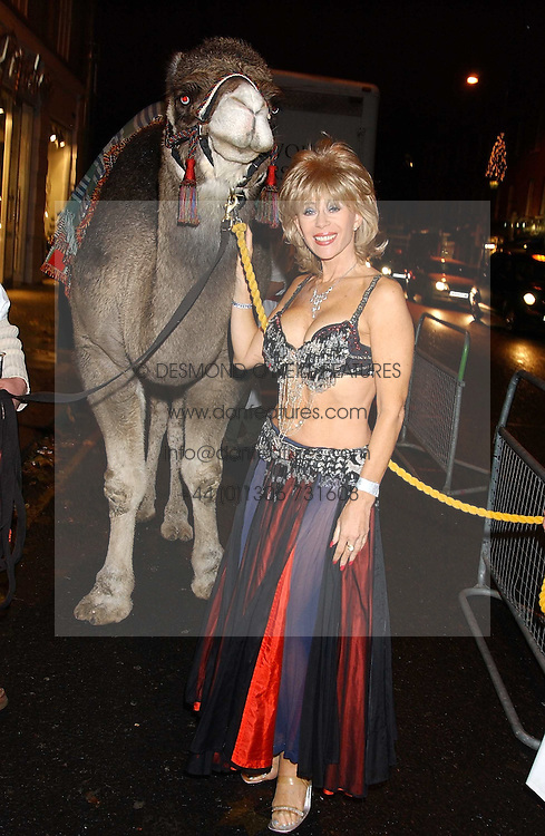 SALLY FARMILOE at a party to celebrate the recent merger of Chelsea Mortgage Management with Cobalt Capital - A Night in Marrakesh held at Raffles, nightclub, Kings Road, London on 1st December 2005.<br />