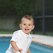 Christopher Family Portrait, April 29th, 2012.  Baptism Day!