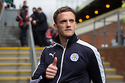 Leicester City midfielder Andy King (10) before the Barclays Premier League match between Crystal Palace and Leicester City at Selhurst Park, London, England on 19 March 2016. Photo by Phil Duncan.