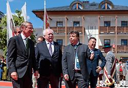 17.05.207, Zell am See, AUT, 67. Oesterreichischer Staedtetag, im Bild v. l.: Landeshauptmann von Salzburg Wilfried Haslauer, Städtebund- Präsident und Bürgermeister von Wien Michael Häupl (SPoE), Bürgermeister Peter Padourek (Zell am See), Landesrat Hans Mayr // during the Austrian General Assemblies of the Cities in Zell am See, Austria on 2017/05/17. EXPA Pictures © 2017, PhotoCredit: EXPA/ JFK