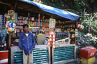 A small roadside stall on Mussourie's Camel's Back Road.