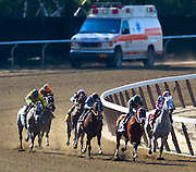 One of the only sports I am aware of where an ambulance follows each race.